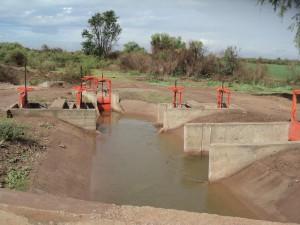 Sistema de distribución de agua de riego