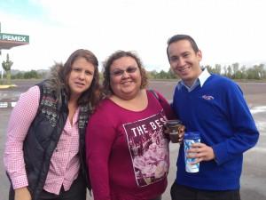 De izq. a der.: Daniela Noreña, Flor Ibarra y Antonio Rodríguez