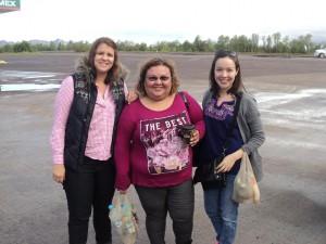 De izq. a der.: Daniela Noreña, Flor Ibarra y Daniella Yocupicio