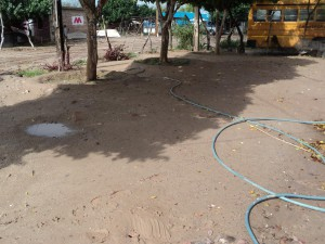 Toma de agua en vivienda de Las Guásimas